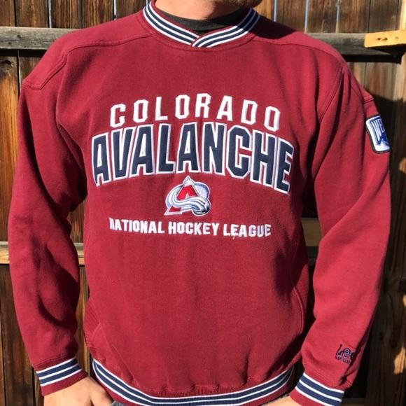 Lee Tops - Colorado Avalanche Vintage Sweatshirt NHL 60a6942f4